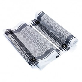 """Pano em Rolo """"Roll Drap"""" Vintage Preto 40x64cm P64cm (200 Uds)"""