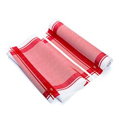 "Rolo Pano ""Roll Drap"" Vintage Vermelho 40x64cm P40cm (200 Uds)"