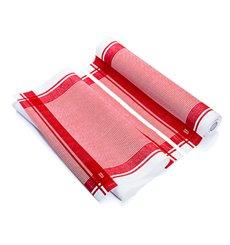 "Rolo Pano ""Roll Drap"" Vintage Vermelho 40x64cm P40cm (10 Uds)"