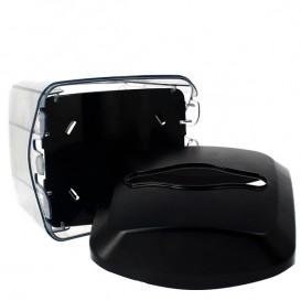 Dispensador Guardanapos ABS Preto 15,5x13,5x15,0cm (20 Uds)