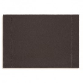 """Toalhete Individual """"Day Drap"""" Anthracite 32x45cm (12 Uds)"""