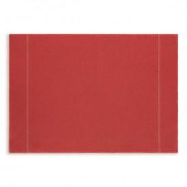 "Toalhete Individual ""Day Drap"" Vermelho 32x45cm (12 Uds)"