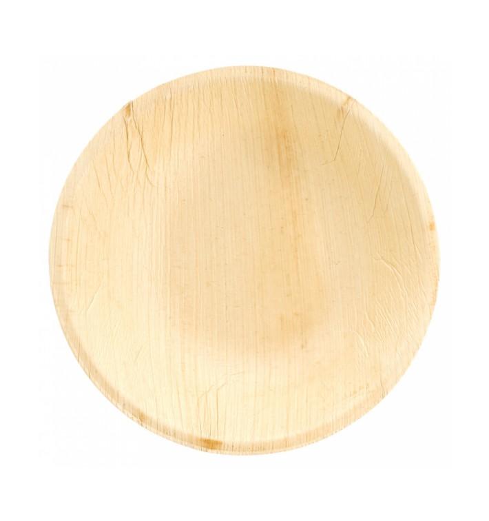 Tigela de folha de palmeira 18x3,5cm (25 Unidades)