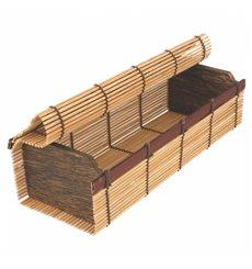 Embalagem de Bambu para sushi 23x8x6cm (24 Uds)