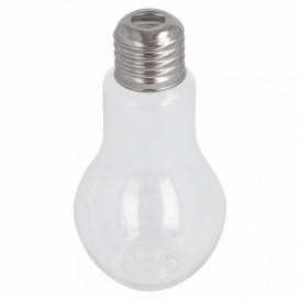 Garrafa Lâmpada Transparente PET 100ml (25 Uds)
