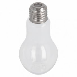 Garrafa Lâmpada Transparente PET 100ml (250 Uds)