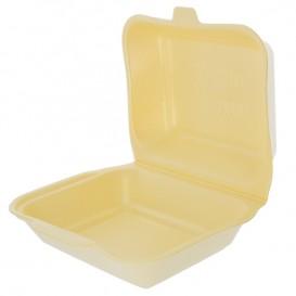 Embalagem Foam LunchBox Champahne 185x155x70mm (500 Uds)