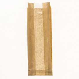 Saco de Papel Kraft Janela 10+4x29cm (1000 Uds)