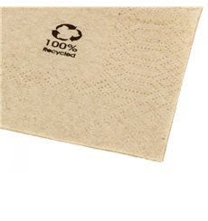 "Guardanapos Papel Eco ""Recycled"" 20x20cm (6000 Uds)"