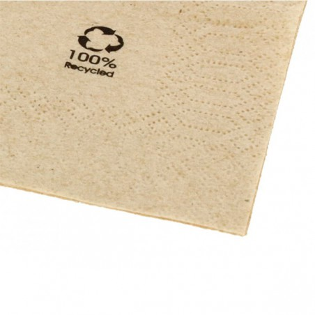Guardanapos Papel Ecologico Cocktail 20x20cm (100 Uds)