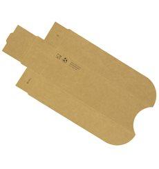 Porta Hot Dog Kraft 17x5x3,5cm (100 Unidades)