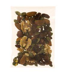 Saco PP Biorientado Dobra Adesivo 5,5x5,5cm G160 (100 Uds)