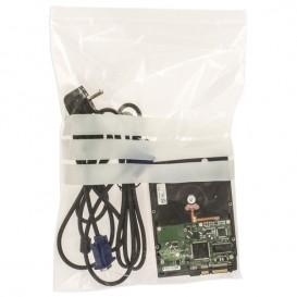Sacos ZIP Fecho Automático e Banda 25x35cm G160 (100 Uds)