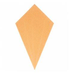 Cone Ondulado de Papel Kraft 270mm 250g (600 Uds)