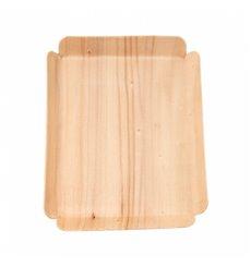 Barquilhas de Madeira Retangular 15x11,5x1,5 cm (50 Uds)