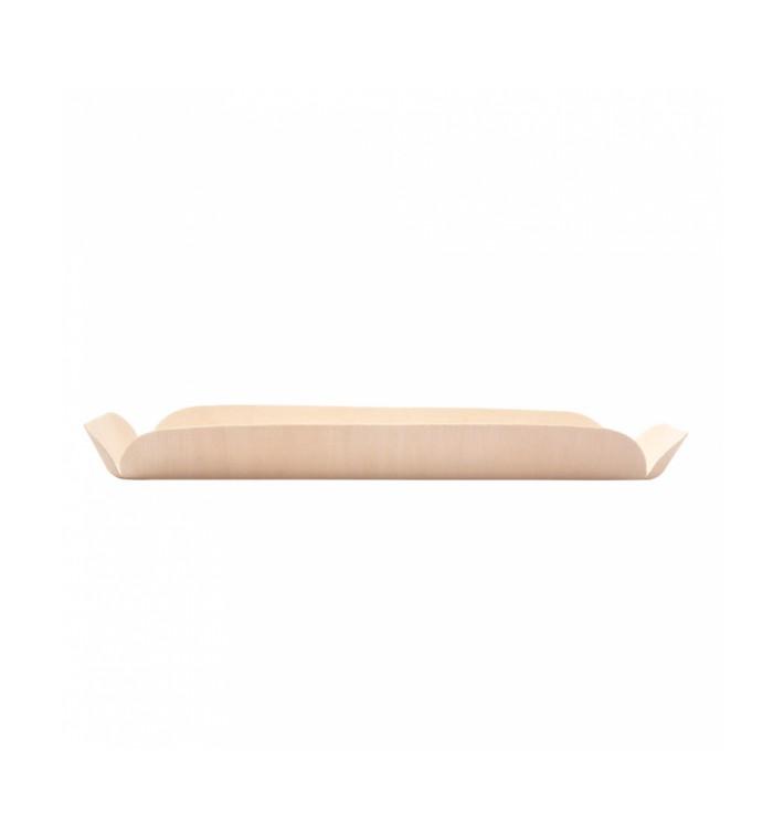 Barquilhas de Madeira Retangular 22x8x2 cm (50 Uds)