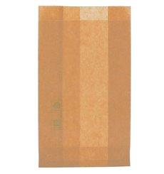 Saco de Papel Antigordura Kraft 12+6x20cm (1000 Uds)