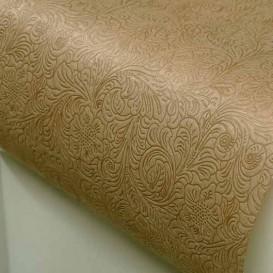 Toalha Descartável Não Tecido PLUS Bege 120x120cm (150 Uds)