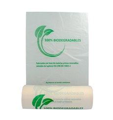 Rolo de Sacos Plasticos sem alças 100% Bio 22x37cm (500 Uds)