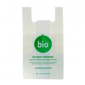 Saco Plastico Alça Biodegradável 100% 50x55 cm (1000 Uds)