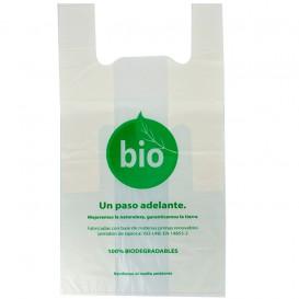 Saco Plastico Alça Biodegradável 100% 55x60 cm (500 Uds)