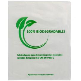 Saco Plastico Mercado 100% Biodegradável 35x48cm (100 Uds)