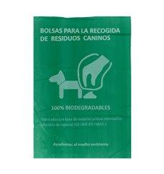 Saco Plastico de excrementos cão 100% bio 18x26cm (5000 Uds)
