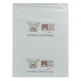 Saco Plastico Mercado Block 100% Biodegradável 23x33cm (3.000 Uds)