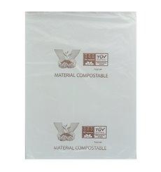 Saco Plastico Mercado Block 100% Biodegradável 23x33cm (100 Uds)