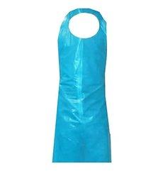 Avental Polietileno Block 76x120cm 40 Micron Azul (100 Uds)