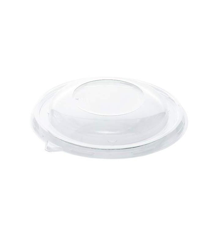 Tampa de Plástico RPET Transparente para Tigela Ø17cm (50 Uds)