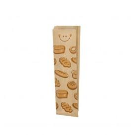 "Saco de Papel Kraft ""Panes"" 9+3x51cm (1000 Uds)"