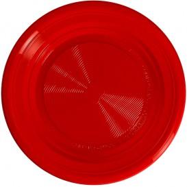 Prato Amido Milho PLA Profundo Vermelho Ø220 mm (25 Unidades)