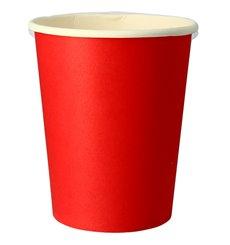 """Copos de Cartão 9Oz/240 ml Vermelho """"Party"""" (10 Uds)"""