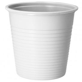 Copo de Plástico PS Branco 230 ml (30 Uds)