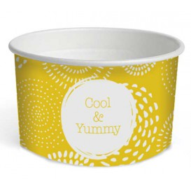 """Taça de Cartão para Gelados 5oz/140ml """"Cool&Yummy"""" (50 Uds)"""