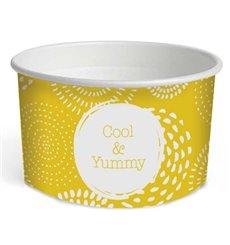 """Taça de Cartão para Gelados 5oz/140ml """"Cool&Yummy"""" (1000 Uds)"""