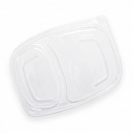 Tampa Transparente Embalagem 2C 1050/1250ml 255x189x20mm (20 Uds)