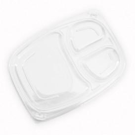 Tampa OPS Transparente Embalagem 3C 1050/1250ml 255x189x20mm (20 Uds)