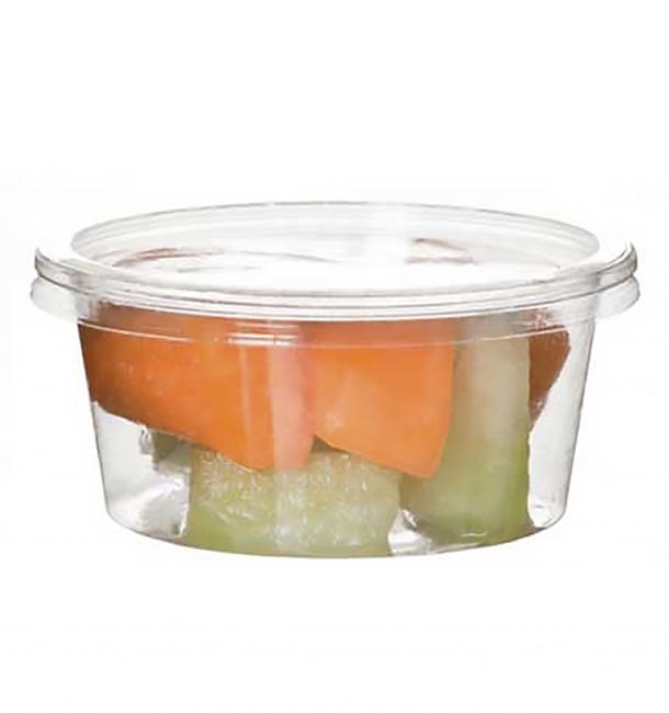 Embalagem Compostáveis PLA Transparente 145ml (100 Uds)