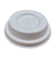 Tampa de Cana de Açúcar Branco Ø6,3cm (50 Uds)