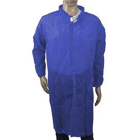 Bata Industria TST PP Velcro e Sem Bolsos Azul XL (1 Ud)