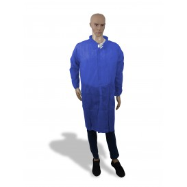 Bata Industria TST PP Velcro e Sem Bolsos Azul XL (100 Uds)