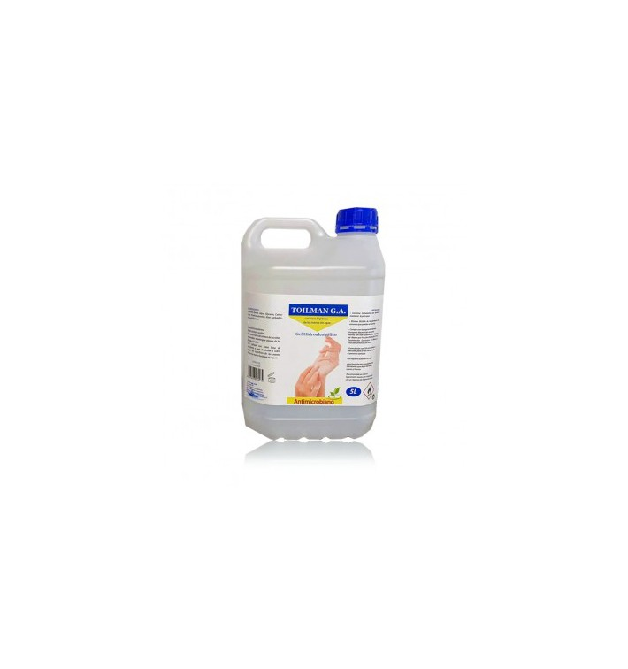 Gel Sanitário Antibacteriano Hidroalcoólico 5.000ml (1 Ud)