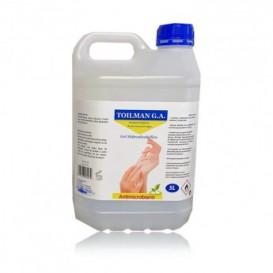 Gel Sanitário Antibacteriano Hidroalcoólico 5000ml (4 Uds)