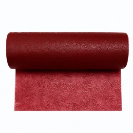 Toalha em Rolo Não Tecido PLUS Bordéus 0,4x50m P30cm (1 Ud)