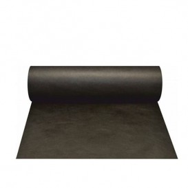 Toalha em Rolo Não Tecido 1x50m 50g Preto (6 Uds)