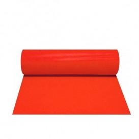Toalha em Rolo Não Tecido 1x50m 50g Vermelho (6 Uds)
