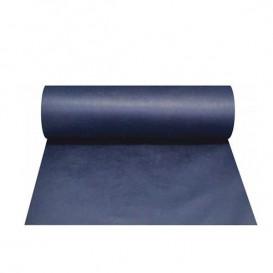 Toalha em Rolo Não Tecido 1x50m 50g Azul (6 Uds)