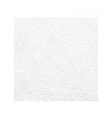 Toalha Caminho Não Tecido PLUS Cortada Branco 40x120cm (500 Uds)